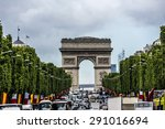 paris  france   june 1  2015 ... | Shutterstock . vector #291016694
