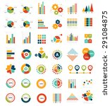 data analysis for info graphic... | Shutterstock .eps vector #291084875