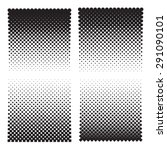 four halftone effect... | Shutterstock .eps vector #291090101