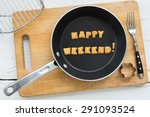 top view of letter collage made ...   Shutterstock . vector #291093524