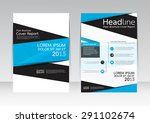 vector design for cover report... | Shutterstock .eps vector #291102674