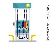 modern flat design vector... | Shutterstock .eps vector #291107057