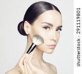 studio fashion photo of... | Shutterstock . vector #291119801