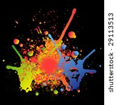 color splashes. check my... | Shutterstock .eps vector #29113513