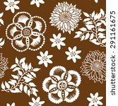 floral seamless pattern... | Shutterstock .eps vector #291161675