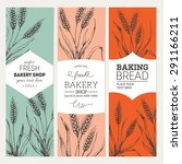 Bread Vertical Vintage Banners...