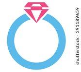 diamond ring icon from commerce ... | Shutterstock .eps vector #291189659