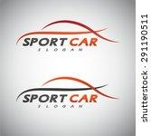 abstract car design concept... | Shutterstock .eps vector #291190511