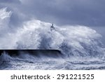 Heavy Storm At The Mouth Of...