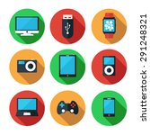 electronic devices vector icon... | Shutterstock .eps vector #291248321