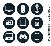 electronic devices vector icon... | Shutterstock .eps vector #291248339