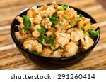 cauliflower salad | Shutterstock . vector #291260414