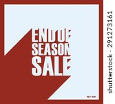 End Of Season Sale And...