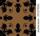 circular seamless  pattern of ... | Shutterstock . vector #291275501