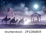 traditional christian christmas ... | Shutterstock .eps vector #291286805