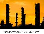 petrochemical plant in...   Shutterstock . vector #291328595