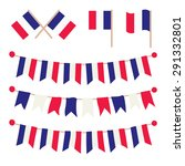 french buntings garlands... | Shutterstock .eps vector #291332801
