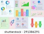 illustration of vector flat... | Shutterstock .eps vector #291386291