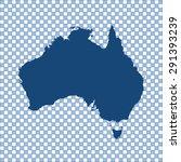 map of australia | Shutterstock .eps vector #291393239