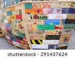 innsbruck  austria   june 28  a ... | Shutterstock . vector #291437624