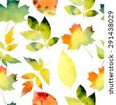Seamless Pattern With Autumn...