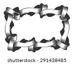 vector frame in the style of... | Shutterstock .eps vector #291438485