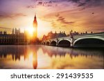 Big Ben Westminster Bridge Dusk - Fine Art prints