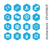 company icons universal set for ... | Shutterstock .eps vector #291455819