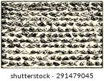 background with heads of dry... | Shutterstock . vector #291479045