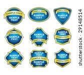 label set | Shutterstock .eps vector #29148514