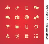 communication icons universal... | Shutterstock .eps vector #291510539
