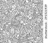 cartoon vector doodles hand... | Shutterstock .eps vector #291521939