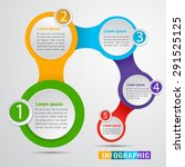 abstract modern digital... | Shutterstock .eps vector #291525125