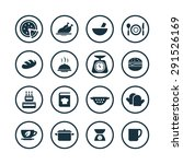cooking icons universal set for ... | Shutterstock . vector #291526169