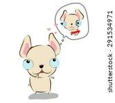 vector illustration of bulldog... | Shutterstock .eps vector #291534971
