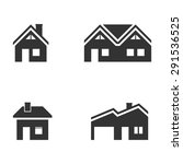 building icons vector eps10. | Shutterstock .eps vector #291536525
