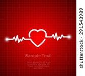 illustration of life line... | Shutterstock .eps vector #291543989