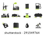 oil and petrol industry objects ... | Shutterstock .eps vector #291549764