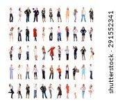 teamwork achievement united... | Shutterstock . vector #291552341