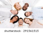 together we are stronger. top... | Shutterstock . vector #291561515