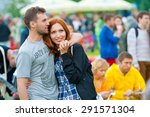 moscow   june 20  2015  people... | Shutterstock . vector #291571304