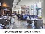 interior of stylish restaurant | Shutterstock . vector #291577994