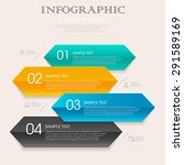 business infographic template... | Shutterstock .eps vector #291589169