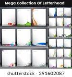 twenty seven business style... | Shutterstock .eps vector #291602087