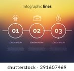 vector modern infographic with...