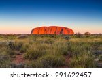 Beautiful View Of Uluru  Ayers...