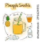 hand drawn sketch illustration... | Shutterstock .eps vector #291624551