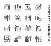 a set of sixteen human... | Shutterstock .eps vector #291626099