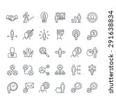 thin line icons set. icons for...