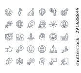 thin line icons set. icons for... | Shutterstock .eps vector #291638849